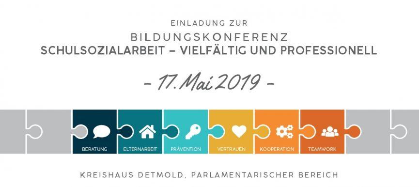 BILDUNGSKONFERENZ SCHULSOZIALARBEIT am 17. Mai 2019