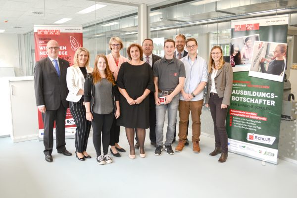 Ausbildungsbotschafter im Austausch mit der Bundesbildungsministerin Anja Karliczek