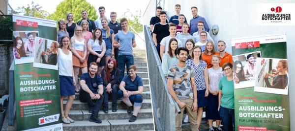 Die Neuen gehen an den Start! - 50 Ausbildungsbotschafter in Lippe unterwegs