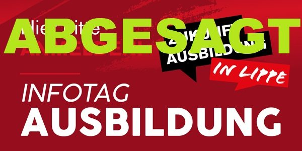 ABGESAGT: Infotag Ausbildung 4.0 am 26.06.2021